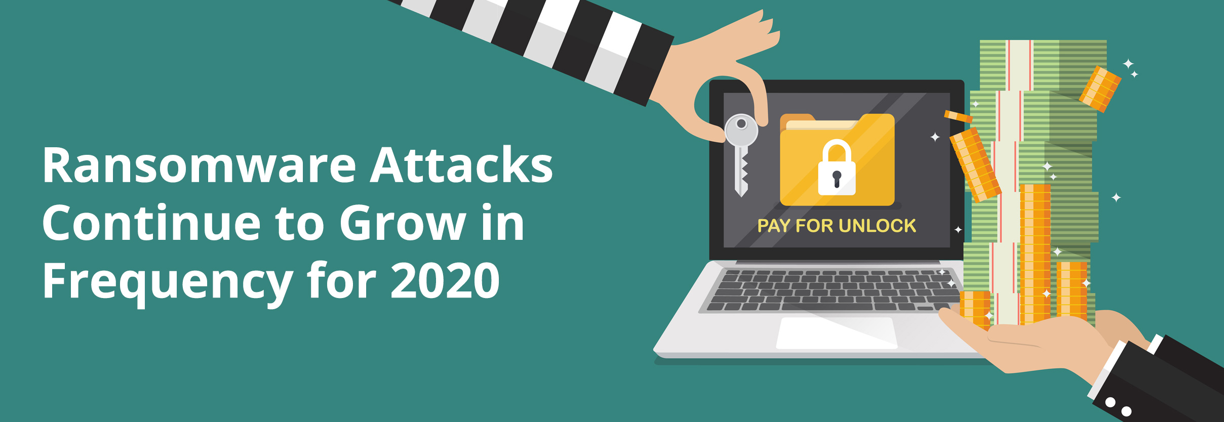 Ransomware Attacks Continue to Grow in Frequency for 2020