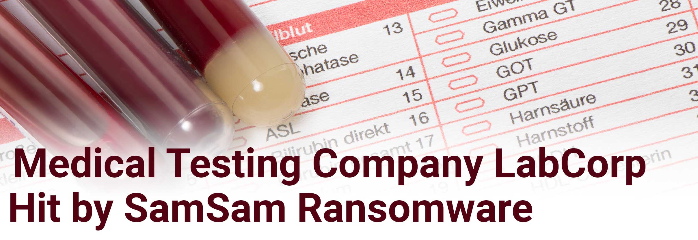 Medical Testing Company LabCorp Becomes Victim of Ransomware Cyberattack
